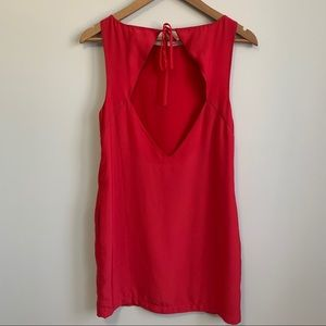 Kimchi Blue Red Shift Dress